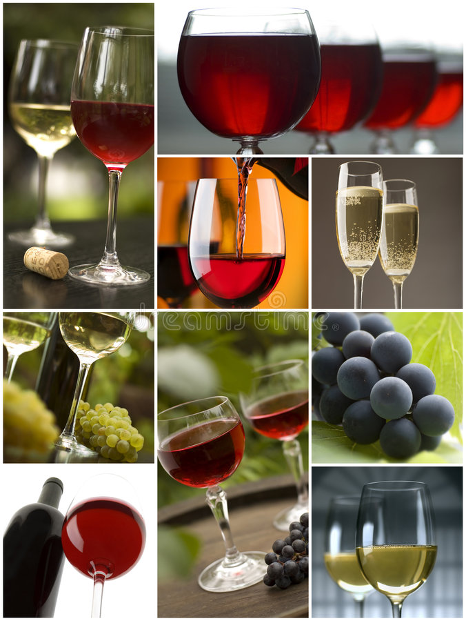 Download Collage stock image. Image of wine, winnery, white, nature - 7927563