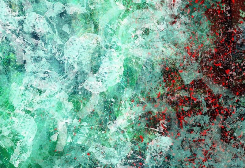 Collage abstracto ilustración del vector