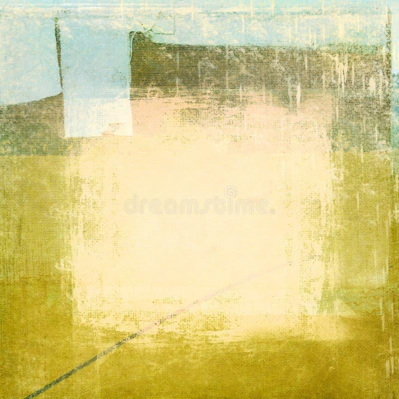 Collage acodado sucio ilustración del vector