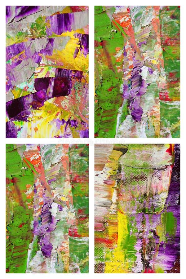 Collage astratto come priorità bassa fotografie stock libere da diritti