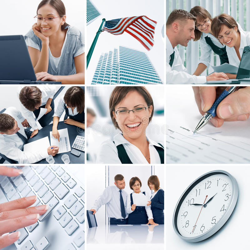 Collage royalty free stock image