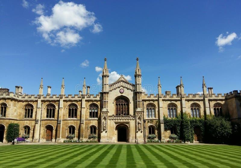 Collage a Cambridge immagine stock libera da diritti