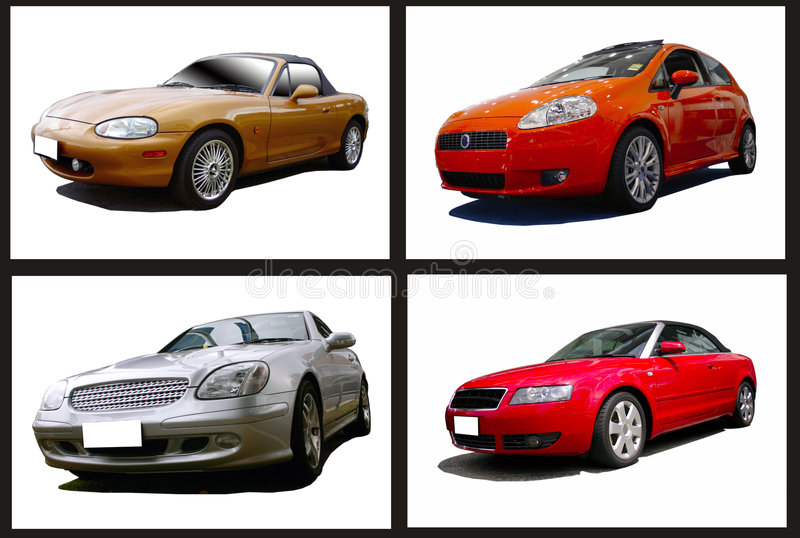 Download Collage of cars stock image. Image of speed, roadster - 4786299