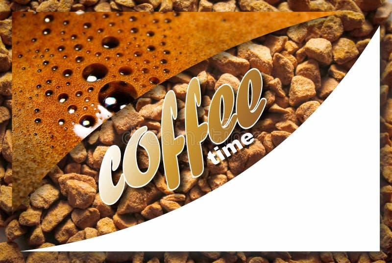Collage con i dettagli del caffè immagine stock libera da diritti