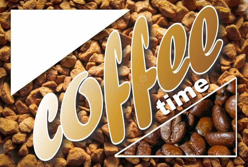 Collage con i dettagli del caffè immagini stock libere da diritti