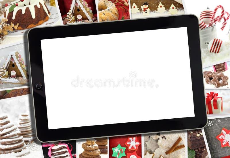 Collage con le varie vacanze invernali immagini stock