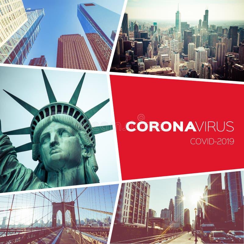 Free Collage Coronavirus Covid-19 World Epidemic. Quarantine. Stop Travel. Stay Home. Travel Restrictions. World Travel Destination Stock Photos - 179029143