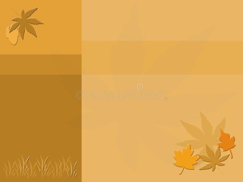 Collage d'automne illustration libre de droits