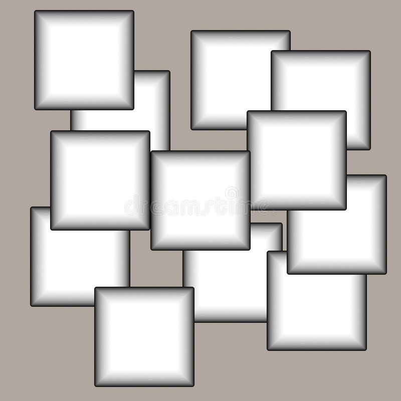 Collage de bastidores stock de ilustración. Ilustración de gris ...