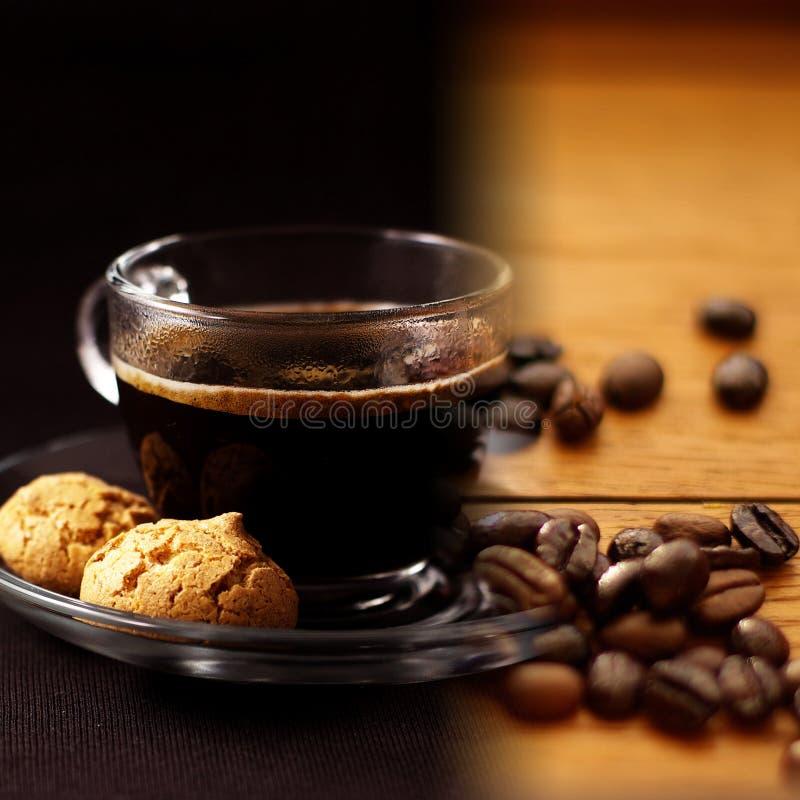 Collage de café photo libre de droits