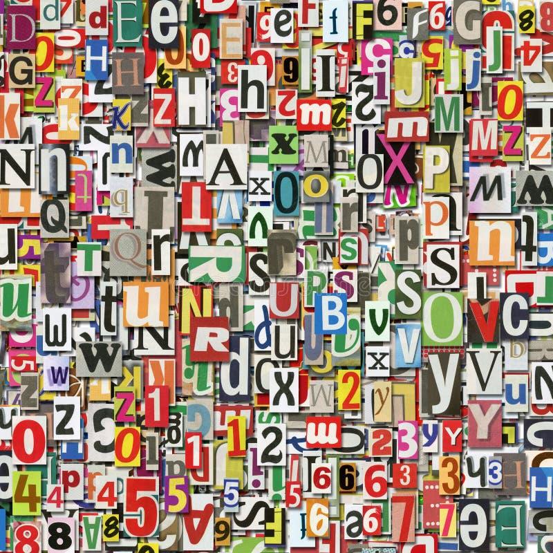 Collage de Digitals images libres de droits
