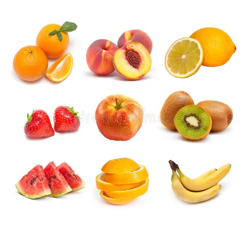 Collage de fruit photo stock