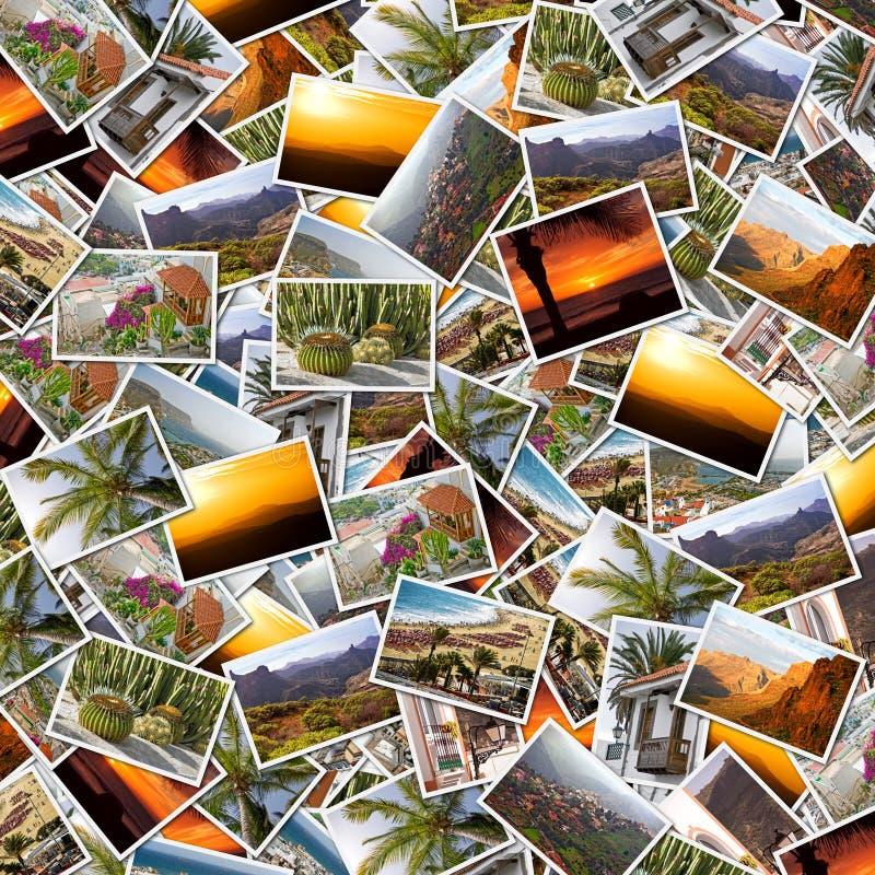Collage de Gran Canaria image libre de droits