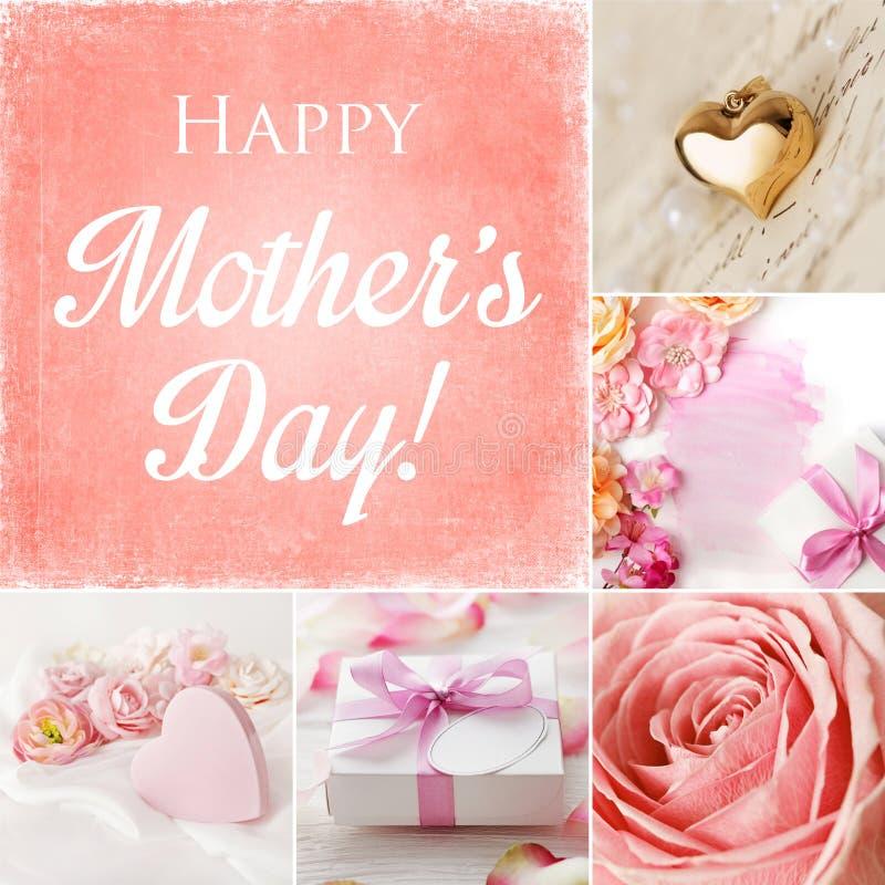 Collage de jour de mères photo libre de droits