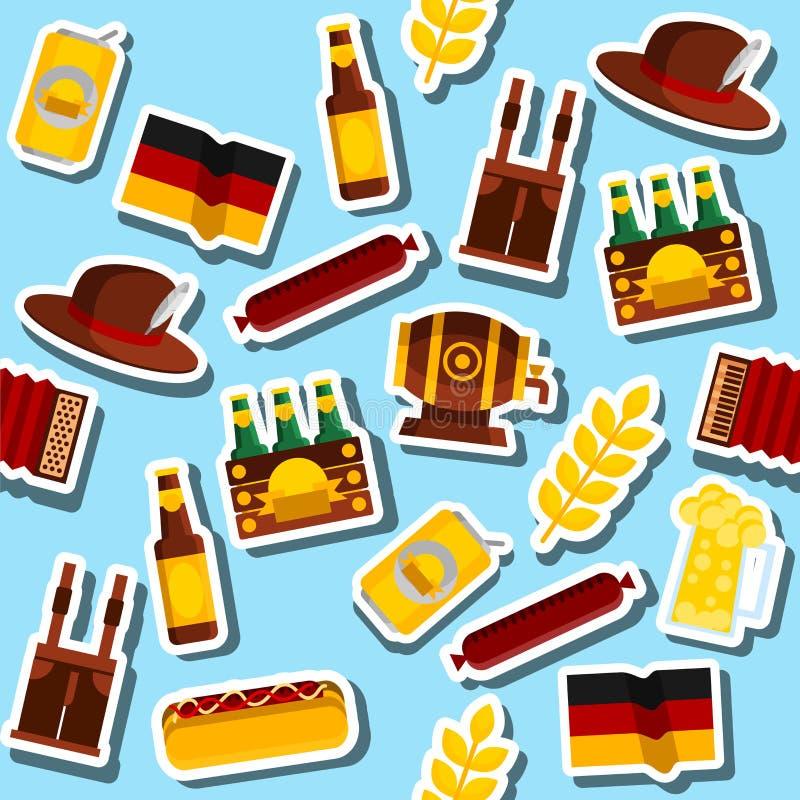 Collage de l'Allemagne concept de course illustration de vecteur