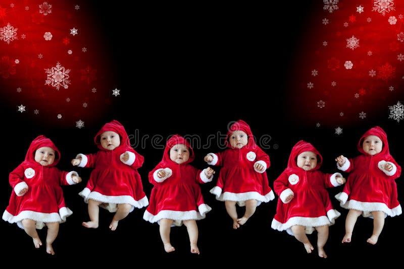 Collage de la Navidad imagen de archivo libre de regalías