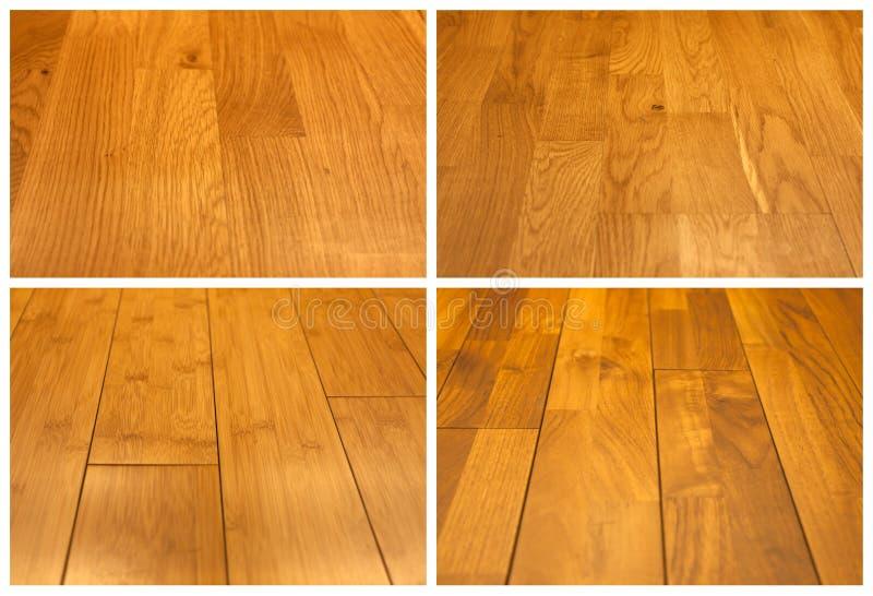 Collage de madera del suelo fotografía de archivo libre de regalías