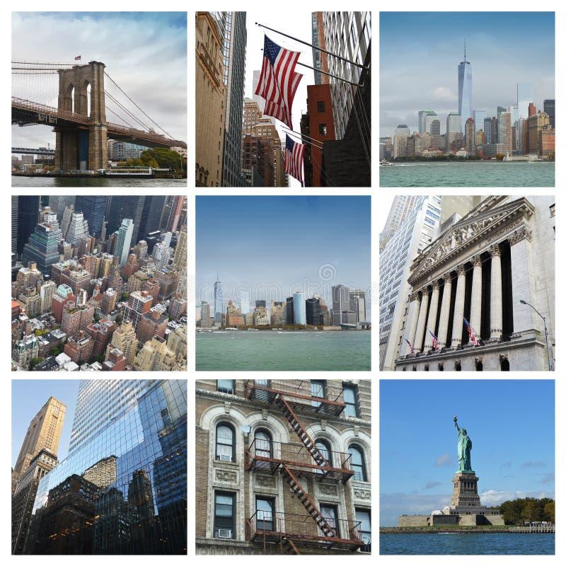 Collage de New York City image libre de droits