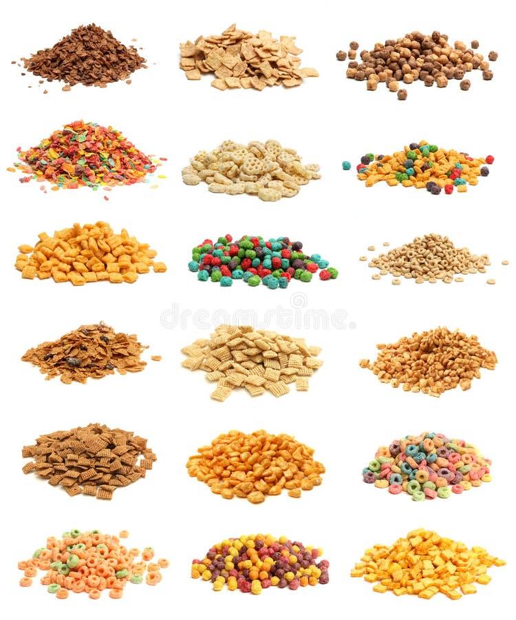 Collage del cereale immagini stock libere da diritti