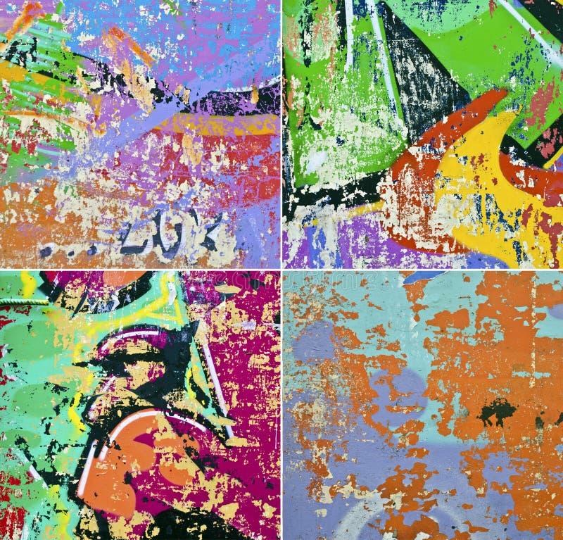 Collage del fondo di lerciume immagini stock libere da diritti