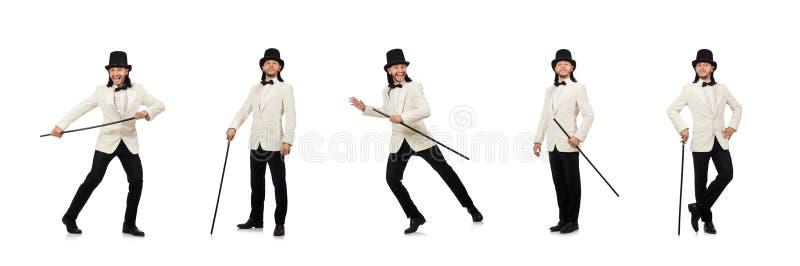 Collage del hombre joven en traje foto de archivo libre de regalías