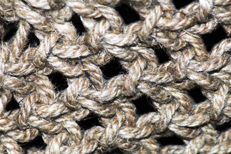 Collage del modello di struttura del tessuto della lana del cammello in un ordine della scacchiera come fondo astratto fotografia stock libera da diritti