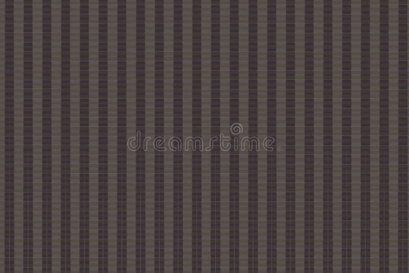 Collage del modello di struttura del tessuto della lana del cammello in un ordine della scacchiera come fondo astratto fotografia stock