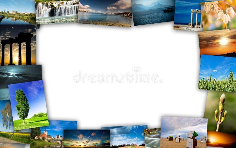 Collage del viaje fotos de archivo libres de regalías