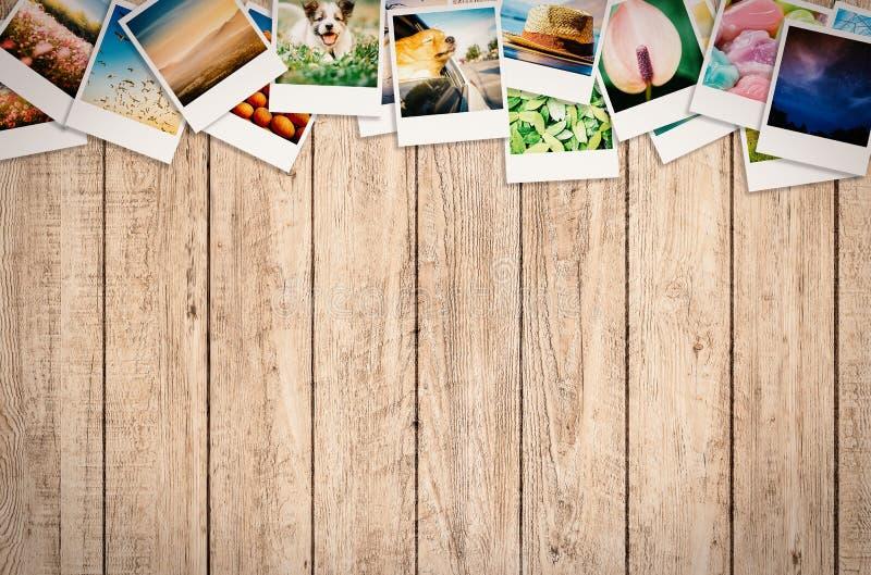 Collage della foto di viaggio immagine stock