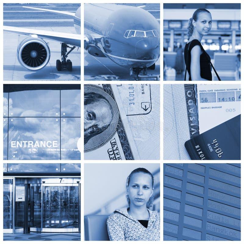 Collage di corsa fotografia stock libera da diritti