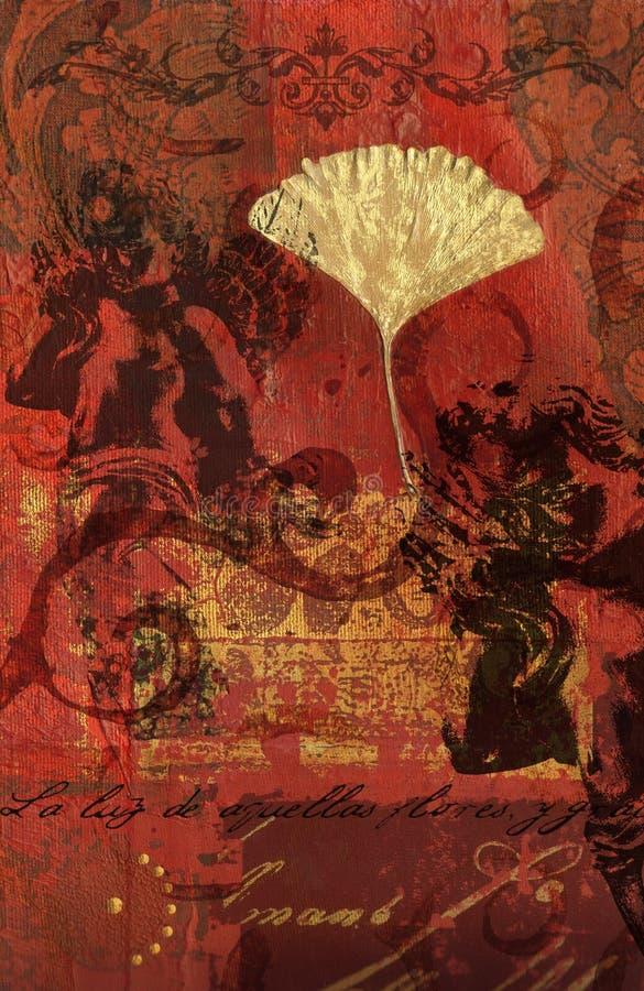 Collage di Digitahi royalty illustrazione gratis
