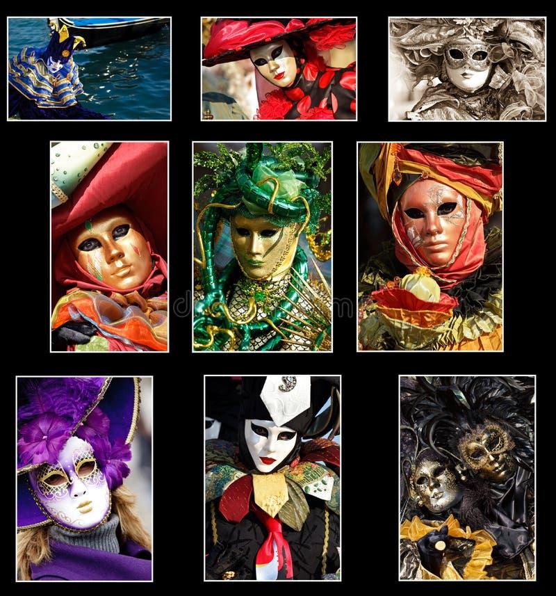 Collage di Venezia fotografie stock