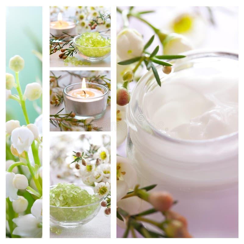 Collage di Wellness immagini stock libere da diritti