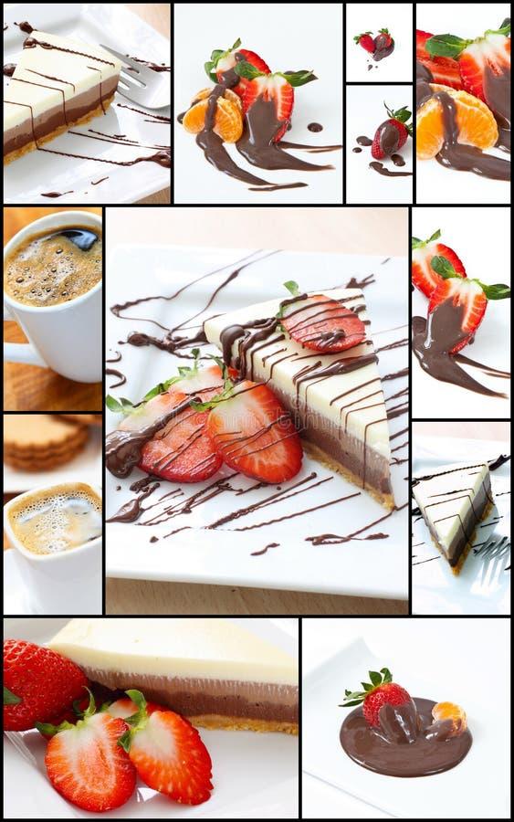 Collage dolce immagini stock libere da diritti