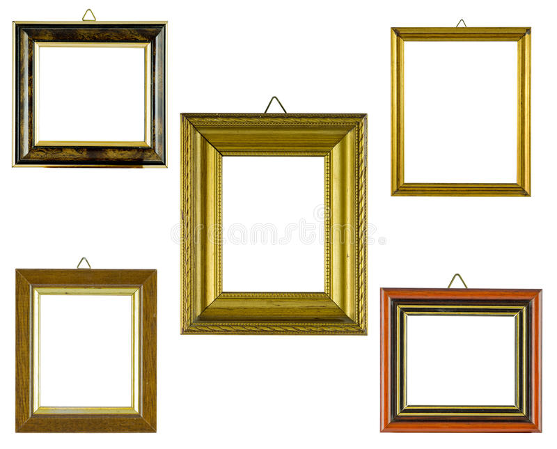 Collage frames royalty free stock image