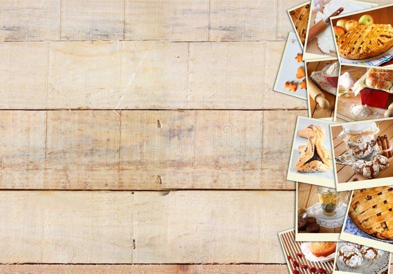 Collage hecho en casa de la hornada con las galletas el - Empanelados de madera ...