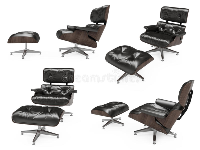 Download Collage Of Isolated Armchairs Stock Photography - Image: 11813122