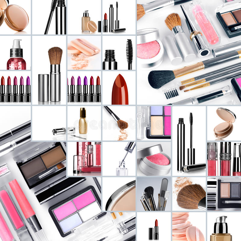Free Collage Make Up Stock Images - 17710184