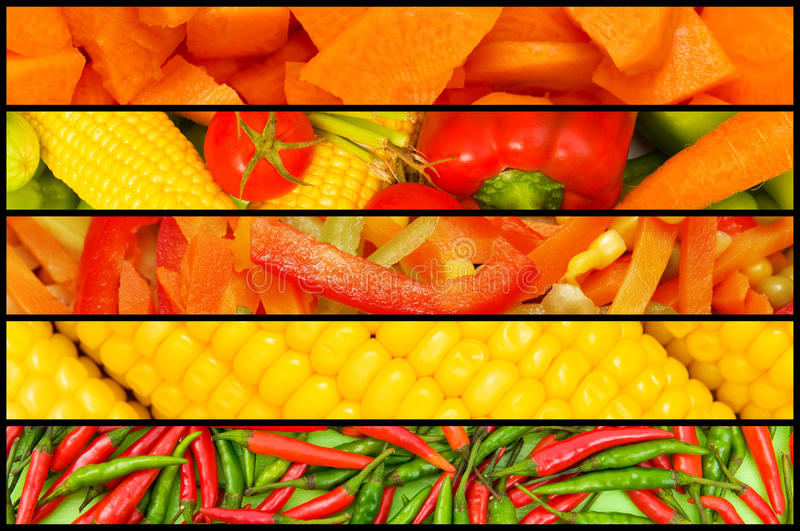 Download Collage - Many Fruits And Vegetables Stock Photo - Image: 22780954