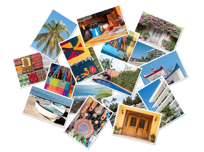 Collage mexicain photographie stock libre de droits