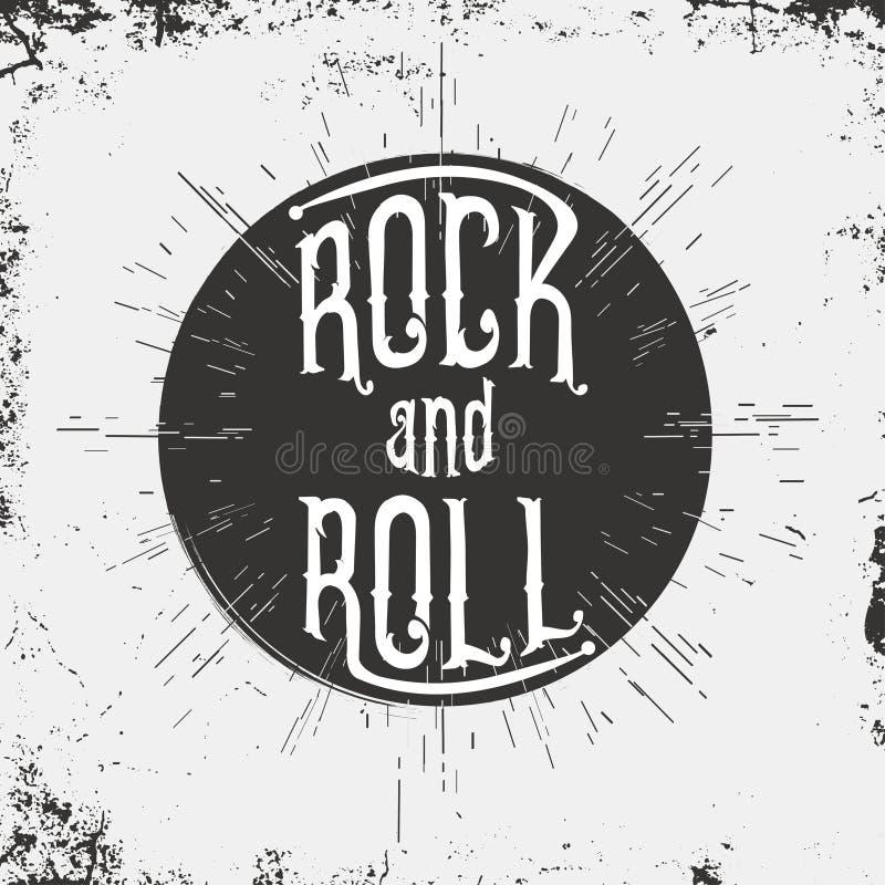 Collage musical - el ejemplo del vector del arte pop con la gente, los instrumentos musicales y la inscripción oscilan Tipografía ilustración del vector