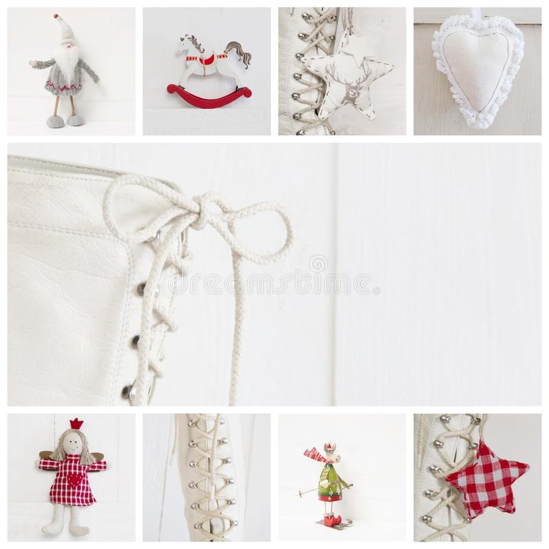 Free Collage Of Different Photos For Christmas - Idea For Decoration Royalty Free Stock Photography - 34587067