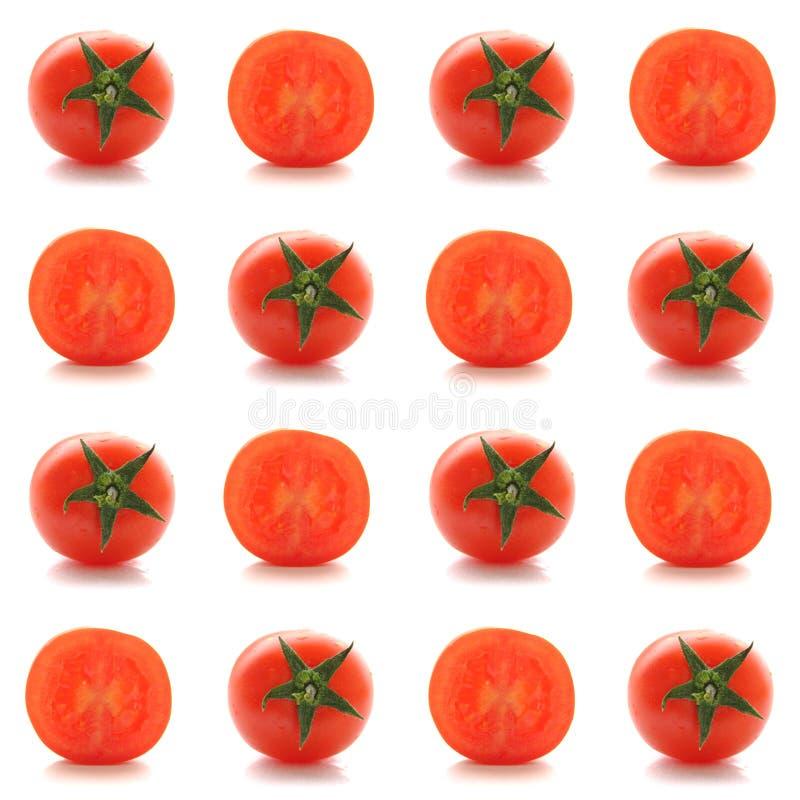 Collage quadrato del pomodoro fotografia stock libera da diritti