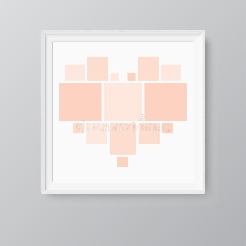 Collage quindici strutture, foto, parti o immagini royalty illustrazione gratis