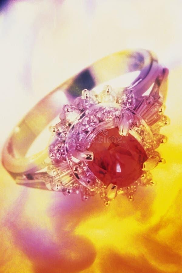 Collage raffinato di immagine dei gioielli fotografia stock libera da diritti