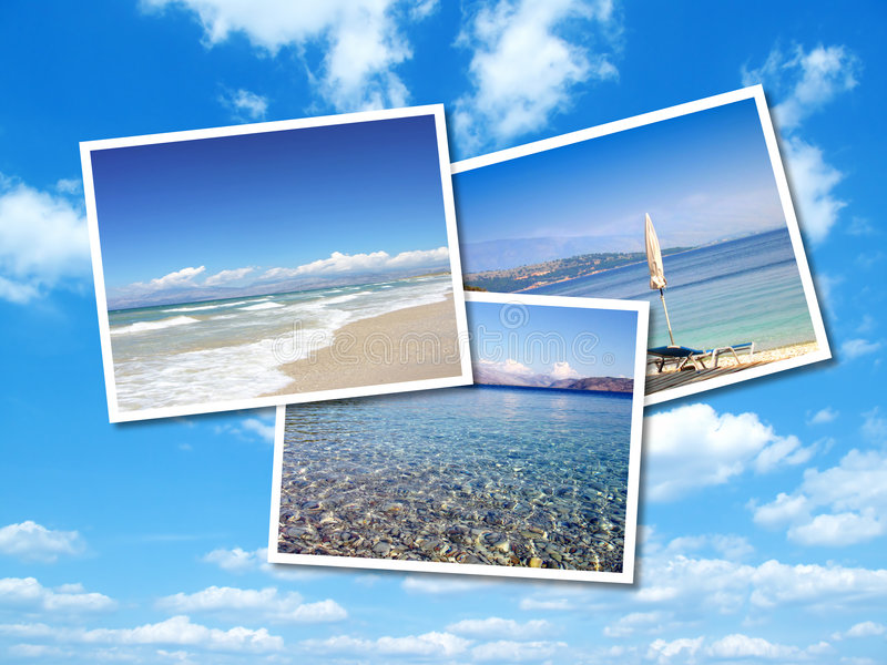 Download Collage Of Summer Beach Images Stock Image - Image: 9355481