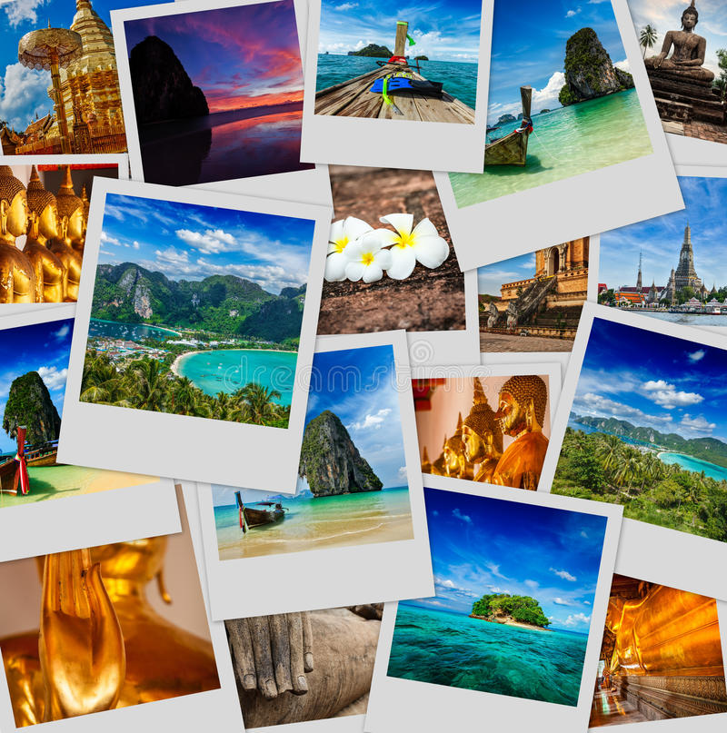 Download Collage Of Thailand Images Stock Photo Image Buddhism