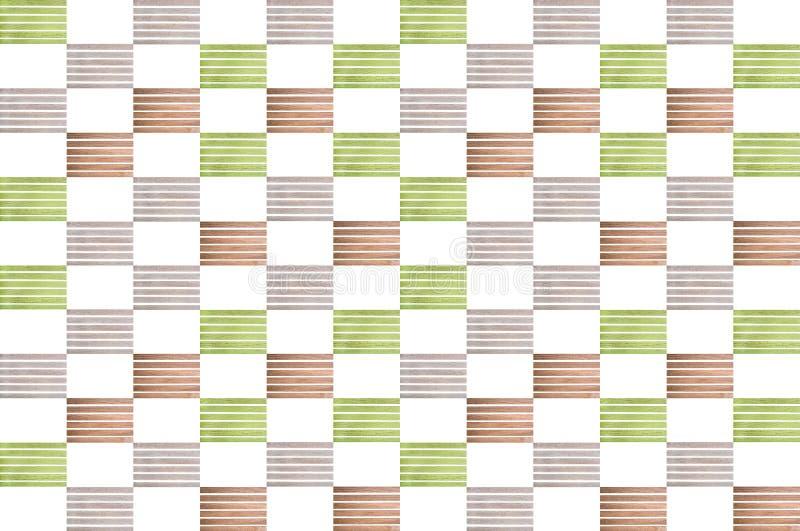 Collage van multi-colored houten latjes royalty-vrije stock afbeelding