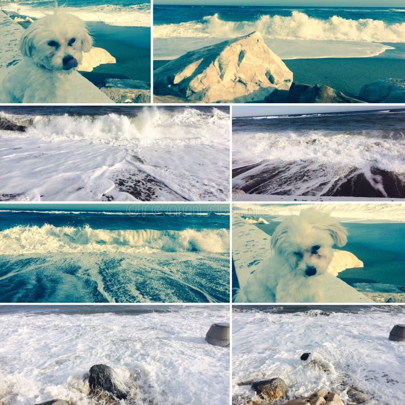Collage van Spanje stock foto