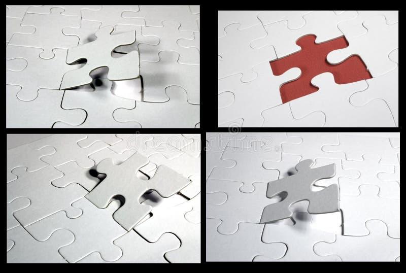 collagejigsaw arkivbilder